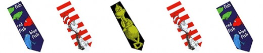 Dr Seuss Ties