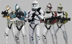 Clone Troopers on Wookiepedia
