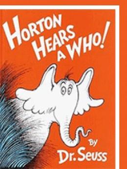 Buy Horton Hears a Who on Amazon.com; new from $4.28