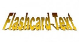flashcard text