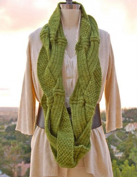 Pam Powers Challah Cowl Knitting Pattern