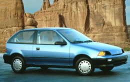 This isn't my car, but it is a Geo Metro.