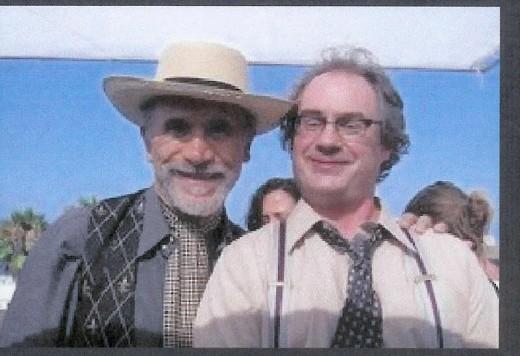 With Tony Amendola on the set of Twentysixmiles