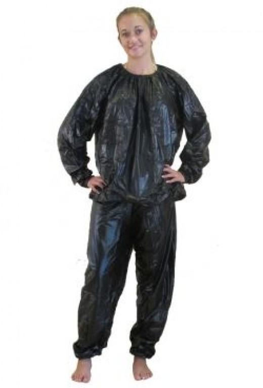 Put on the Sauna Suit!