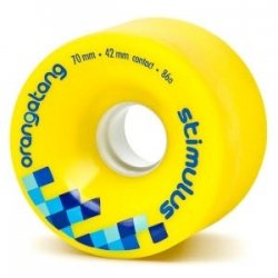Orangatang Stimulus longboard wheels