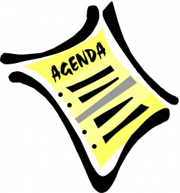 Ask Where You Are on the Agenda, if You're Lucky Enough to Have One!