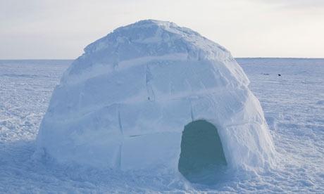 Igloo In Nunavut