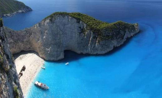 Navagio (shipwreck) bay