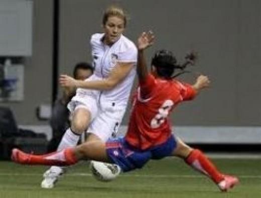 Team USA Women's Soccer vs Costa Rica