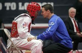 Olympian Terrence Jennings with Coach Juan Moreno