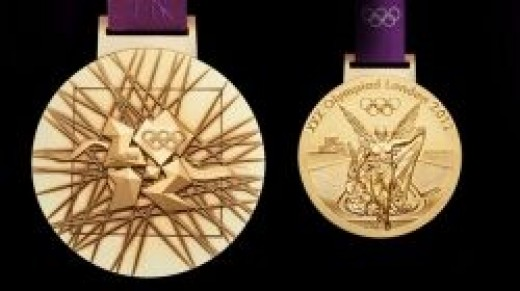 Medals for the 2012 Summer Olympic Games