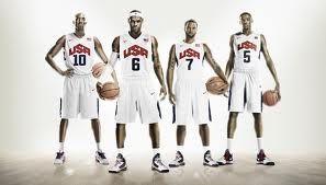Team USA 2012 Mens Basketball Uniforms