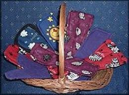 Cloth reusable sanitary pads