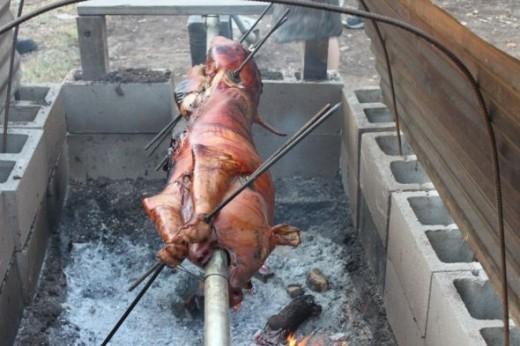 Pit Barbecue - Springdale Farm, Austin, TX