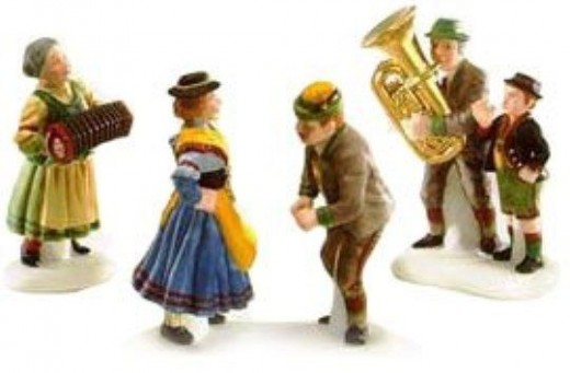 Dept 56 Collectible Polka Fest Figurine Set
