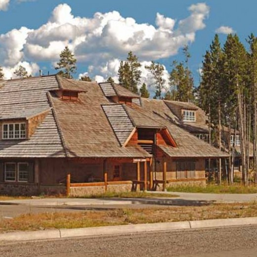 Canyon Lodge - Photo courtesy of the National Park Service and the lodge management company, Xanterra Resorts.