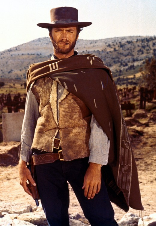 Clint Eastwood as the Man With No Name