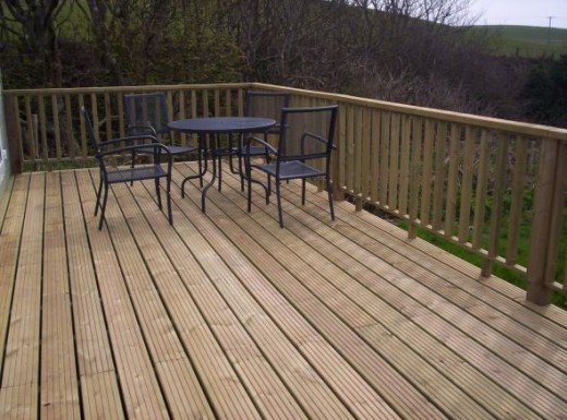How to deck your flat roof balcony patio with timber or for Garden decking norwich