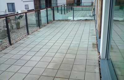 How To Deck Your Flat Roof Balcony Patio With Timber Or
