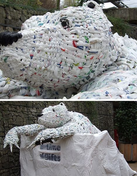 Plastic Bag Art