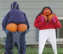 Redneck Pumpkin Art