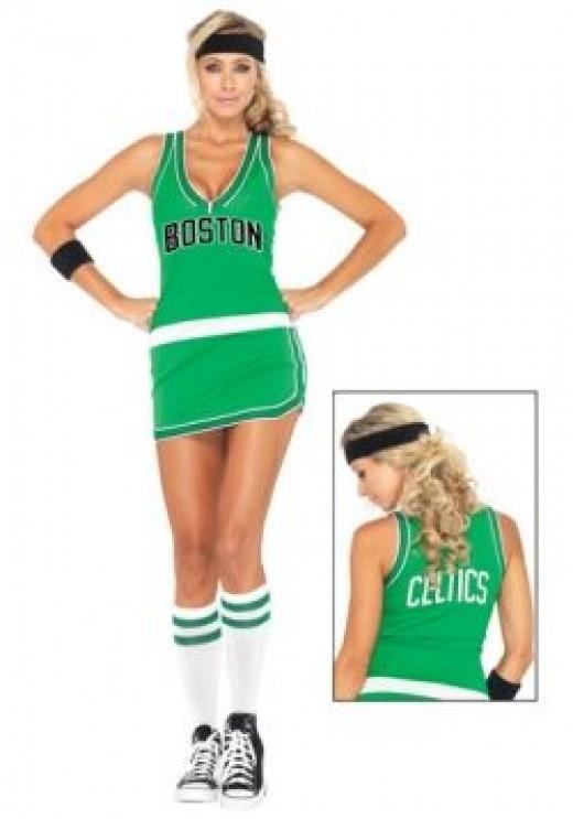 Sexy Celtics NBA Costume