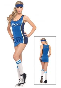 Lady Mavericks NBA Player Costume