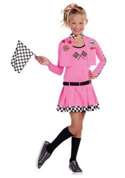 Sweet Racer Costume