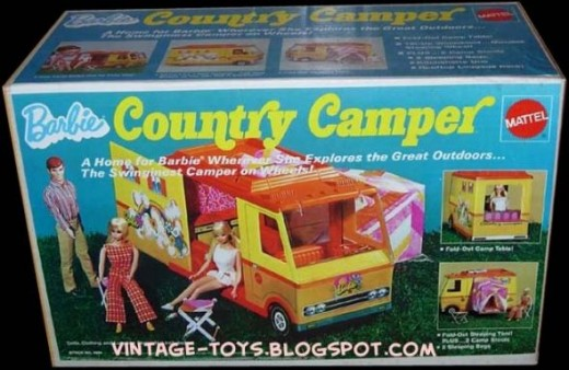 Barbie's country camper. I never knew she camped!