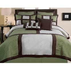 Duck River Textile Palermo Queen Comforter Set, Green