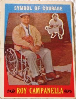 Roy Campanella, 1959 Topps card
