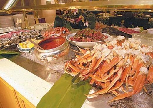 seafood buffet in vegas
