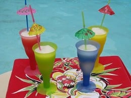 "Think sipping pina coladas by the pool is ""swimming""?  You're a poser!"