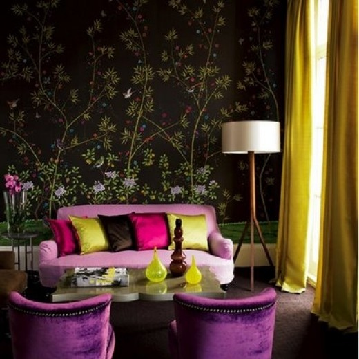 Chakra Color Balancing: Balance Violet/Purple with Yellow