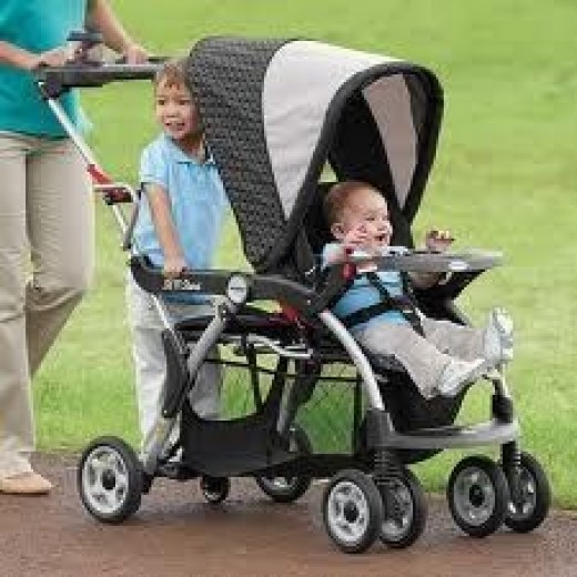 Toddler Stand for Stroller