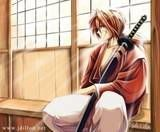 Kenshin Himura thinking