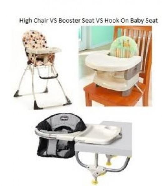 Hook On High Chair VS