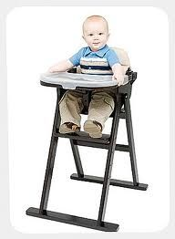 counter height high chair for baby