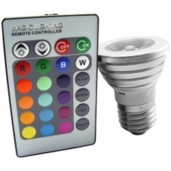 Magic Lighting LED Bulb & Remote | Color Changing Light Bulb With Remote