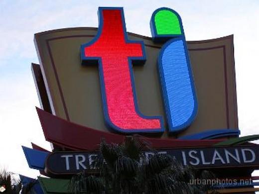 Treasure Island's new marquee