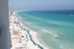 White sand and clear water!   credit:  destinflorida.condominiums