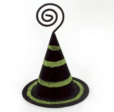 Witch Hat Ornament (Also a Photo Holder)