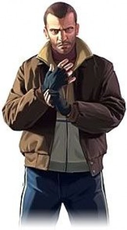 Niko Bellic - protagonist of GTA 4
