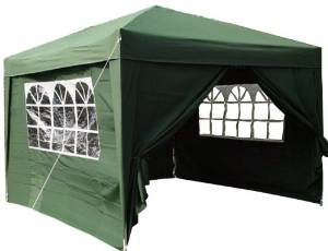 To create more space on your holiday, why not consider getting a pop up gazebo as an extra living space. This can be used as a kitchen/dining room, a wash and bathroom, a shady place to put the kids paddling pool or just as an extra outside room.