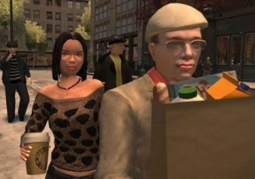 Humans Act Human in GTA 4
