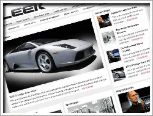 Wordpress Sleek Theme