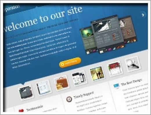 Wordpress The Corporation Theme