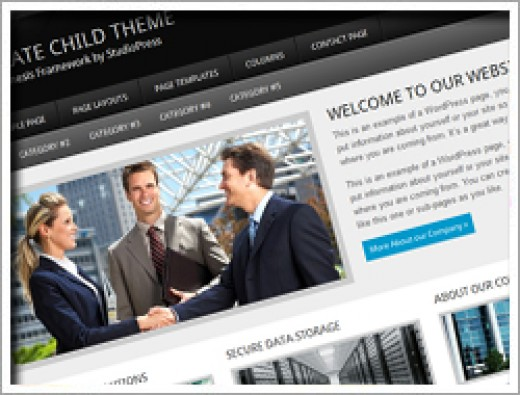 Wordpress Corporate Theme