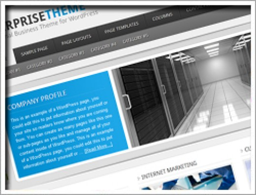 Wordpress Enterprise Theme
