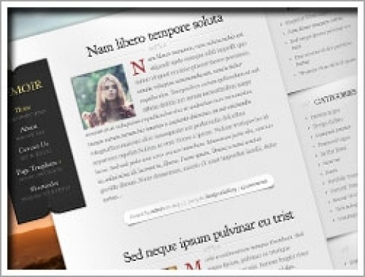 Wordpress Memoir Theme